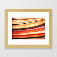 Slow Roll - Vivido Series Framed Art Print