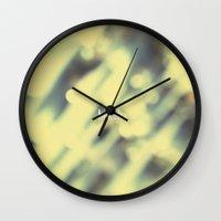 Bokeh. Wall Clock