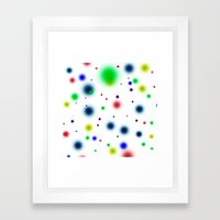 Dots Dots Dots Framed Art Print