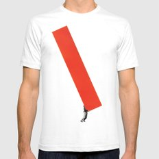 Heavy Construction Mens Fitted Tee White SMALL