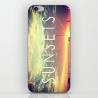 Sunsets iPhone & iPod Skin