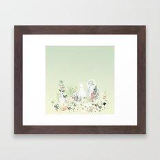 lady mistick Framed Art Print