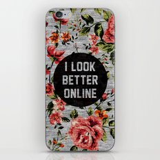 I Look Better Online iPhone & iPod Skin