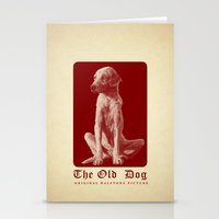 The Old Dog Original Halftone Picture Stationery Cards