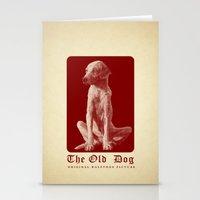 The Old Dog Original Hal… Stationery Cards