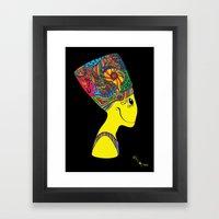 The Brain of Nefertiti Framed Art Print