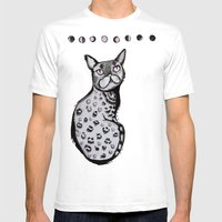 Lunar Neko Mens Fitted Tee White SMALL
