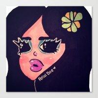 Lush Plush Canvas Print