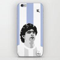 Maradona iPhone & iPod Skin