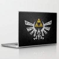 zelda Laptop & iPad Skins featuring Zelda Hyrule by Art & Be