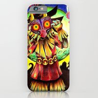 iPhone & iPod Case featuring Majora's Mask by Katie Owens