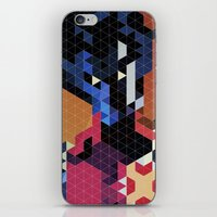 Geometric Nightcrawler iPhone & iPod Skin