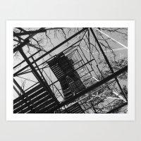 Watchtower 1 Art Print