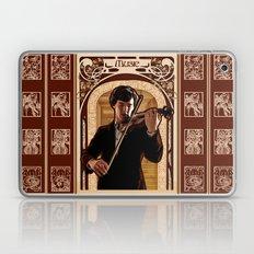 Art Nouveau: The Violinist Laptop & iPad Skin