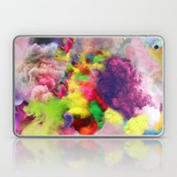 Colorful Smoke And Mirrors Laptop & iPad Skin