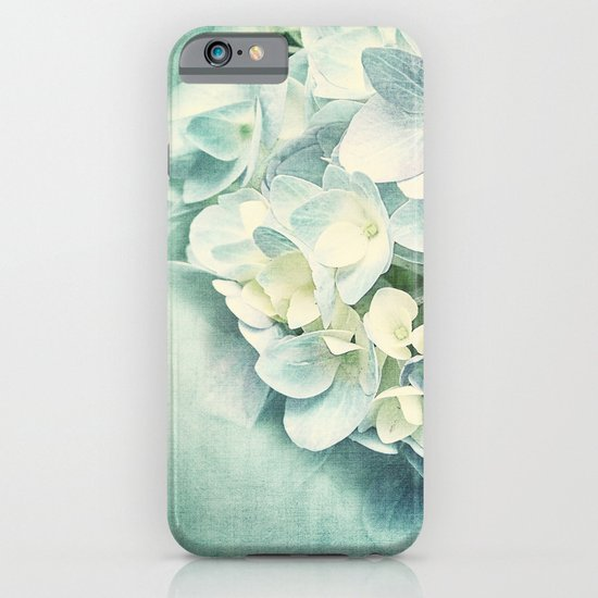 MINT HYDRANGEA iPhone & iPod Case