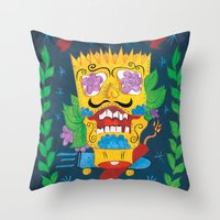 EAT MY SHORTS Throw Pillow