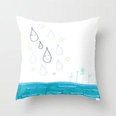 Soft Fall Throw Pillow