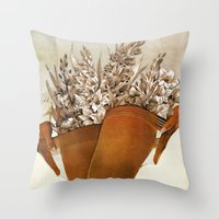 Gladiolous Throw Pillow
