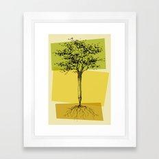 Ideas Don't Grow On Trees Framed Art Print