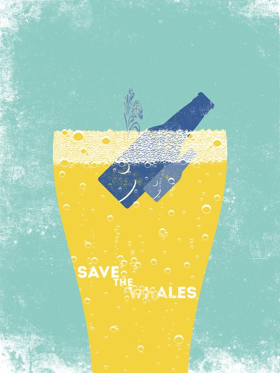 Save the Ales Canvas Print