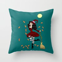 Be Witched! Throw Pillow