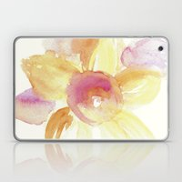 Sunflower Watercolor Laptop & iPad Skin