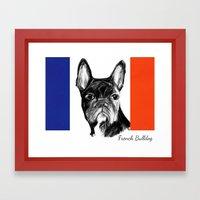 French Bulldog. The Tota… Framed Art Print