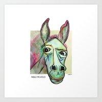 Pablo Pic-Ass-O Art Print