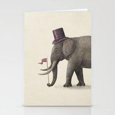Elephant Day  Stationery Cards