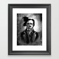 Edgar Allan Poe - I Am T… Framed Art Print