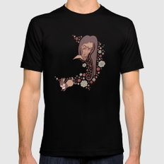 Bouquet SMALL Black Mens Fitted Tee