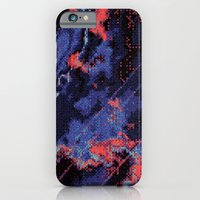 iPhone & iPod Case featuring Glitch Cartography #1 by Tristan Bowersox McQueen