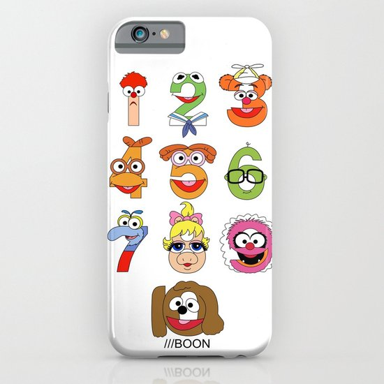 Muppet Babies Numbers iPhone & iPod Case
