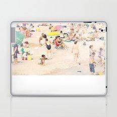 Beach Crowd Laptop & iPad Skin