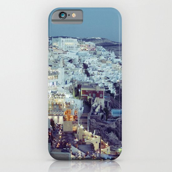 Fira at Dusk II iPhone & iPod Case