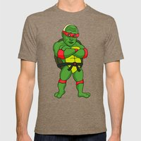 Teenage Putin Ninja Turt… Mens Fitted Tee Tri-Coffee SMALL
