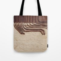 Electric Abstract Tote Bag