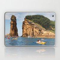 Cliff diving and kayaks Laptop & iPad Skin