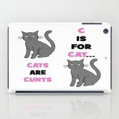 C is for Cat... iPad Case