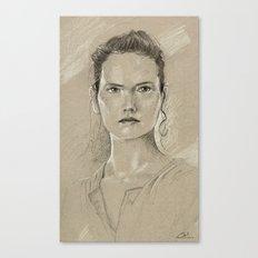 Rey sketch Canvas Print