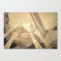 Moving Forward And Looki… Canvas Print