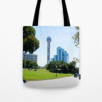 Reunion Tower, Dallas Tote Bag