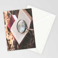 learn + explore. Stationery Cards