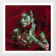 Baroque Meets Oriental R… Art Print