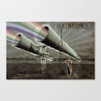 Rainbows ? Canvas Print