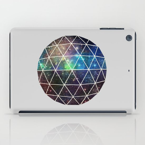 Space Geodesic iPad Case