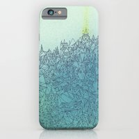 iPhone & iPod Case featuring A Quiet Raft by Lowercase Industry