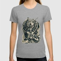 Countdown Womens Fitted Tee Tri-Grey SMALL