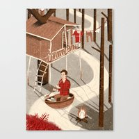 Forest Dweller Canvas Print